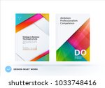 material design of business... | Shutterstock .eps vector #1033748416