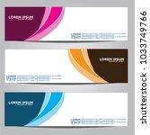 vector design banner... | Shutterstock .eps vector #1033749766