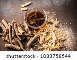 ayurvedic herb liquorice root...