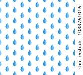 cute blue symmetry water... | Shutterstock .eps vector #1033761016