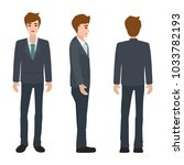 vector illustration of business ... | Shutterstock .eps vector #1033782193
