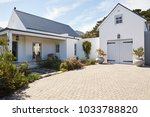 exterior of the driveway ... | Shutterstock . vector #1033788820