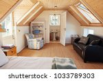 interior of a comfortable... | Shutterstock . vector #1033789303