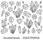 vector collection of beautiful... | Shutterstock .eps vector #1033790056