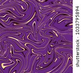 vector violet and gold marble... | Shutterstock .eps vector #1033795894