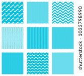blue vector simple seamless... | Shutterstock .eps vector #1033798990