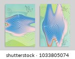 abstract cover template with... | Shutterstock .eps vector #1033805074