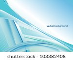 abstract blue background | Shutterstock .eps vector #103382408