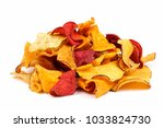 pile of mixed healthy vegetable ... | Shutterstock . vector #1033824730