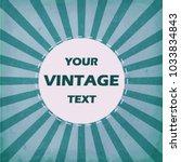 Vintage Design Template. Vecto...