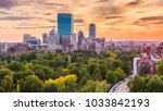 boston  massachusetts  usa...   Shutterstock . vector #1033842193