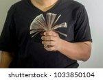 investments in thai baht   Shutterstock . vector #1033850104