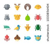 Icon Animals With Spider  Tige...