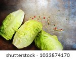 composition with fresh... | Shutterstock . vector #1033874170
