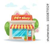 vector cartoon style... | Shutterstock .eps vector #1033875529