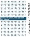 industrial icon design | Shutterstock .eps vector #1033880500