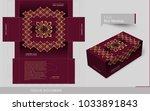 luxury ornamental design... | Shutterstock .eps vector #1033891843