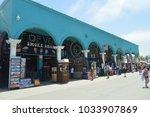 Crowd Of Souvenir Shops In Ver...