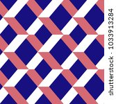 seamless chevron vector pattern.... | Shutterstock .eps vector #1033913284