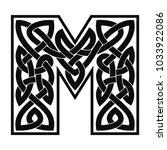 letter of the english alphabet... | Shutterstock .eps vector #1033922086