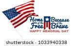 memorial day  holiday   Shutterstock . vector #1033940338