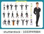 people character business set... | Shutterstock .eps vector #1033949884