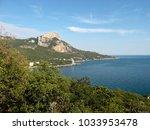 crimea coast beach the black... | Shutterstock . vector #1033953478