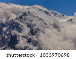 mont blanc is the highest... | Shutterstock . vector #1033970698