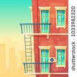 vector cartoon illustration of... | Shutterstock .eps vector #1033982320