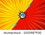 comic fighting bright... | Shutterstock .eps vector #1033987930