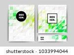 dark multicolor vector brochure ...