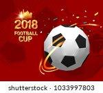 football 2018 world... | Shutterstock .eps vector #1033997803