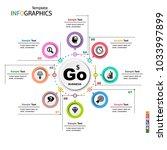 infographics business template... | Shutterstock .eps vector #1033997899