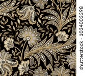 floral pattern. flourish tiled...   Shutterstock .eps vector #1034003398