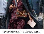milan  italy   february 22 ...   Shutterstock . vector #1034024353