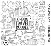 london england travel... | Shutterstock .eps vector #1034024620