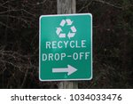 Small photo of RECYCLE DROP OFF SIGN