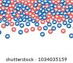 social network marketing like... | Shutterstock .eps vector #1034035159