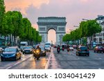 paris  france   may 8  2017 ... | Shutterstock . vector #1034041429