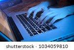 closeup photo of teenagers... | Shutterstock . vector #1034059810