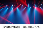 rays in the dark hall during...   Shutterstock . vector #1034060776