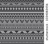 vector abstract black and white ... | Shutterstock .eps vector #1034083456