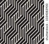 vector seamless pattern. modern ... | Shutterstock .eps vector #1034083900