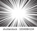 background of radial lines for... | Shutterstock .eps vector #1034084134
