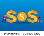 sos business rescue | Shutterstock .eps vector #1034084209
