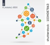 time management  planning... | Shutterstock .eps vector #1034087863