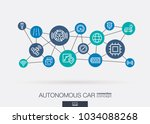 ai creative think system... | Shutterstock .eps vector #1034088268
