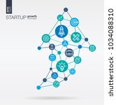 development integrated thin... | Shutterstock .eps vector #1034088310