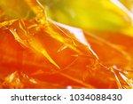 yellow abstract texture blur... | Shutterstock . vector #1034088430