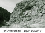 lunar landscape of beautiful... | Shutterstock . vector #1034106049